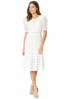BCBG Max Azria Round Neck Dress