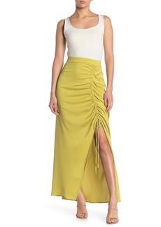 BCBG Max Azria Ruched Maxi Skirt