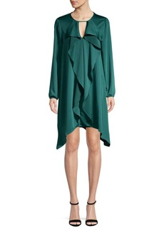 BCBG Max Azria Ruffle Front Dress