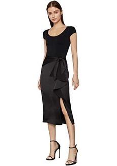BCBG Max Azria Ruffle Front Skirt
