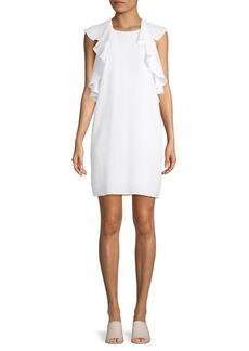 BCBG Max Azria Ruffle Shift Dress