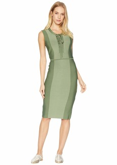 BCBG Max Azria Safari Fitted Dress