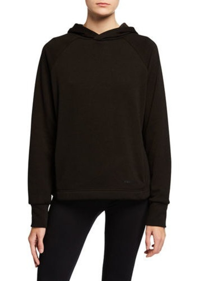 BCBG Max Azria Sara Split Back Fleece Hoodie