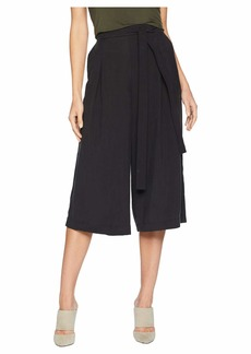 BCBG Max Azria Self Belted Culotte Pants