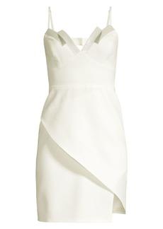 BCBG Max Azria Sequin Detail Crepe Tank Dress