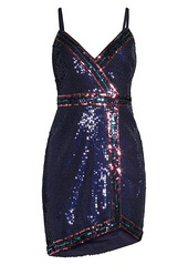 BCBG Max Azria Sequin Mini Dress