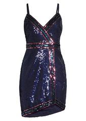 BCBG Max Azria Sequin Mini Dress