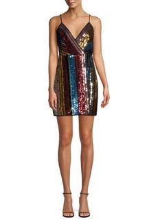 88e7659b85 BCBG Max Azria BCBGMAXAZRIA Chelsea Dotted Shirt Dress