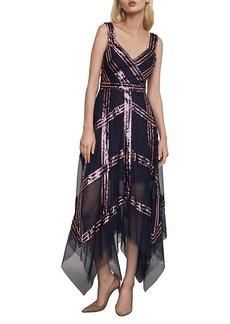 BCBG Max Azria Sequined Tulle Dress