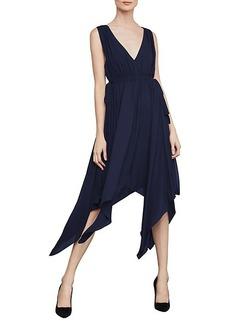 BCBG Max Azria Sleeveless Handkerchief Dress
