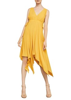 BCBG Max Azria Sleeveless Handkerchief Dress