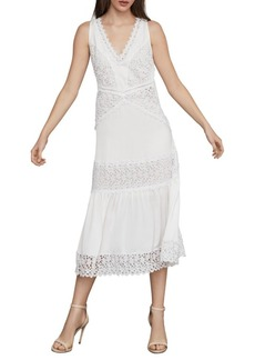 BCBG Max Azria Sleeveless Lace Shift Dress