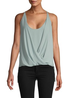 BCBG Max Azria Sleeveless V-Neck Top