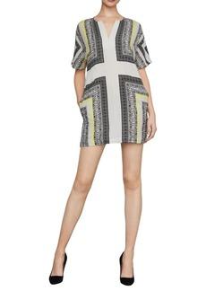 BCBG Max Azria Stitch Scarf Shift Dress