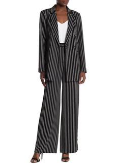 BCBG Max Azria Stripe Print Long Pants