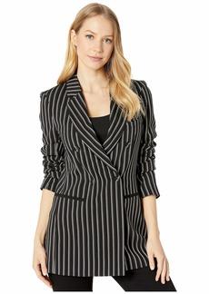 BCBG Max Azria Striped Blazer