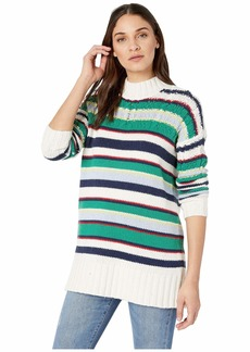 BCBG Max Azria Striped Boyfriend Sweater