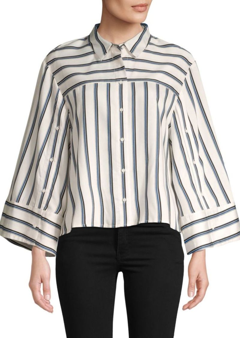 BCBG Max Azria Striped Button-Down Shirt