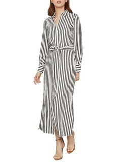 BCBG Max Azria Striped Shirt Dress