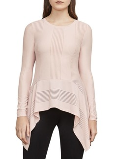 BCBG Max Azria Thanda Asymmetrical Top