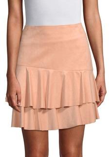 BCBG Max Azria Tiered Mini Skirt
