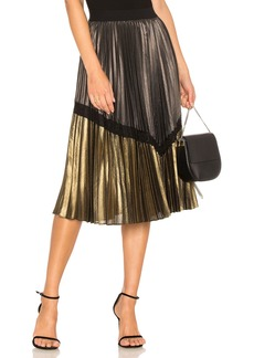 BCBG Max Azria Toni Pleated Skirt