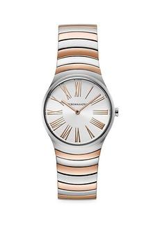 BCBG Max Azria Two-Tone Stainless Steel Bracelet Watch