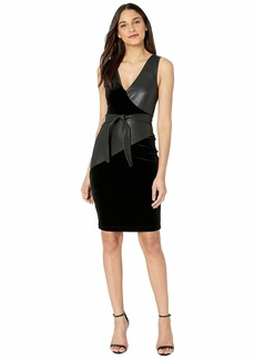 BCBG Max Azria V-Neck Knit Tank Dress