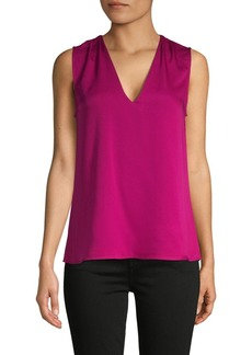 BCBG Max Azria V-Neck Sleeveless Top