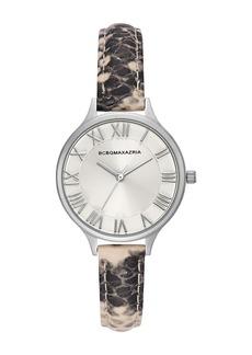 BCBG Max Azria Women's Japanese Quartz Watch with Leather Strap, 33mm