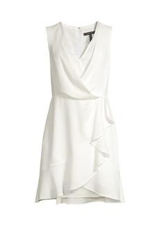 BCBG Max Azria Wrap Cocktail Dress