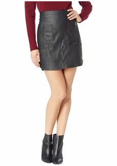 BCBG Max Azria Zip Pocket Skirt