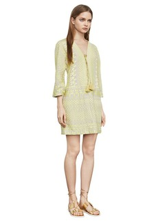 Milana Embroidered Gauze Dress