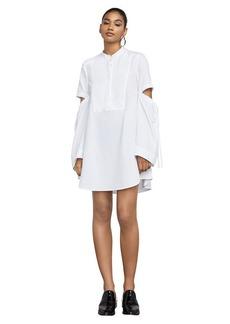 Miley Long-Sleeve Cutout Dress