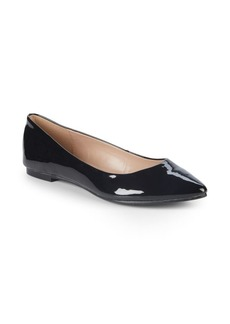 Millie Smooth Patent Ballet Flats
