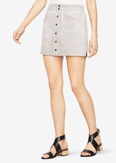Mora Faux-Suede Miniskirt