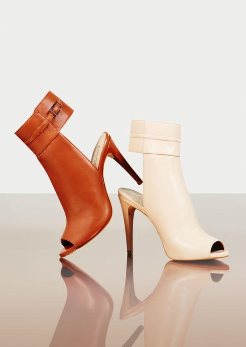 BCBG Nastya High-Heel Leather Sandal