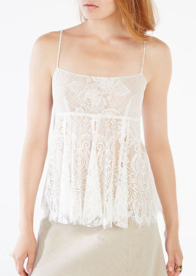 BCBG Nelly Lace Camisole Top