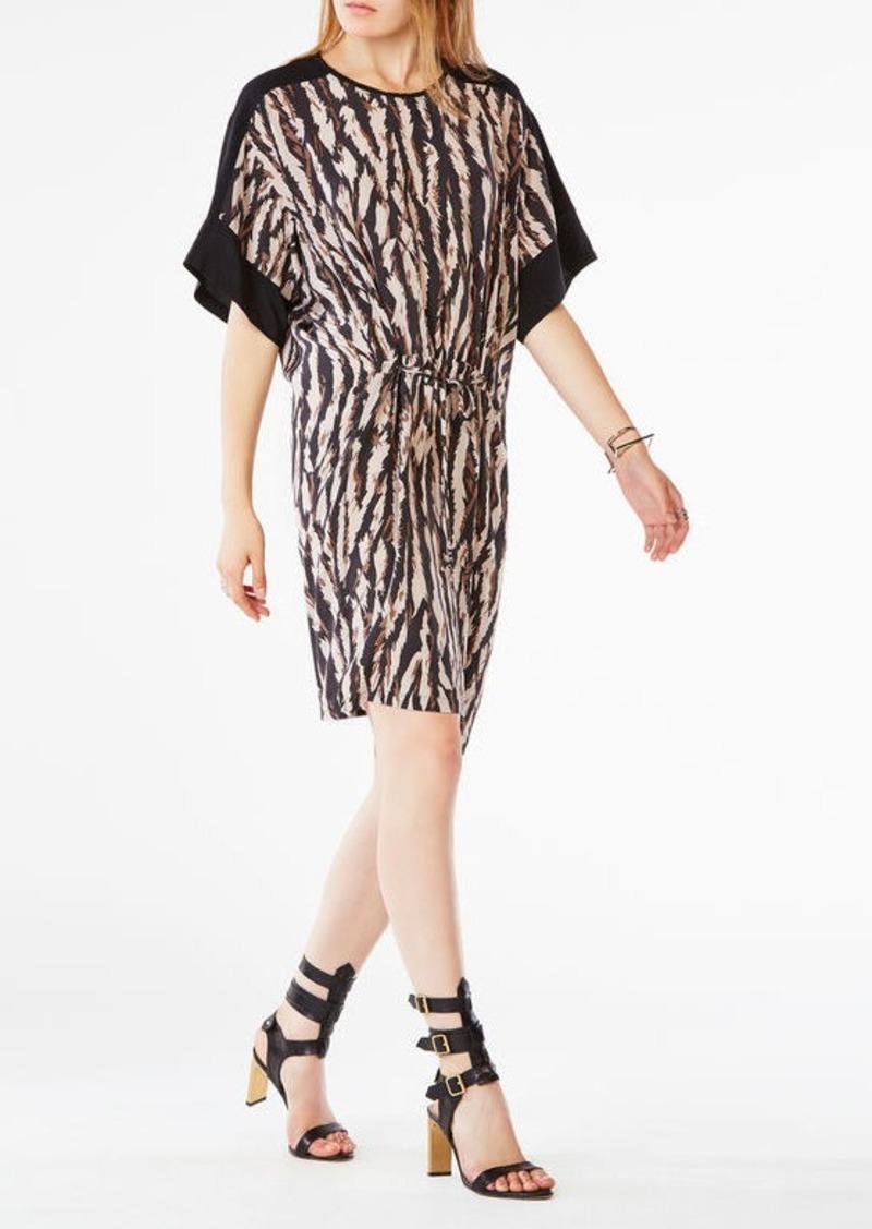 BCBG Nicolette Animal Print Dress