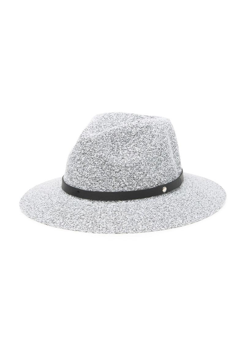 BCBG Nubby Packable Panama Hat