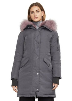 Reese Down-Filled Fur-Hooded Parka