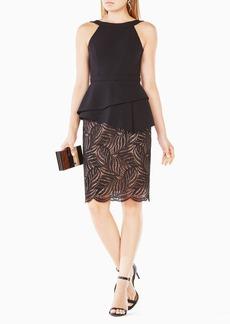 Reya Lace-Paneled Dress