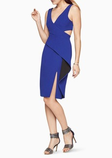 BCBG Riya Peplum Dress