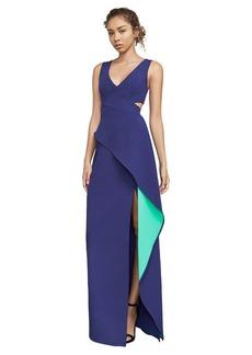 Riya Peplum Gown