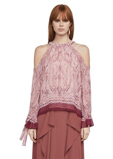 Sessilee Baroque Paisley Halter Top