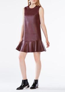 Sheridan Faux-Leather Dress