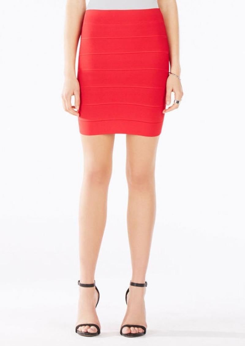 BCBG Simone Textured Power Skirt