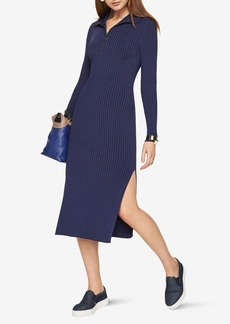 BCBG Sonja Ribbed Sweater Dress