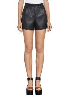 Symon Faux-Leather Short
