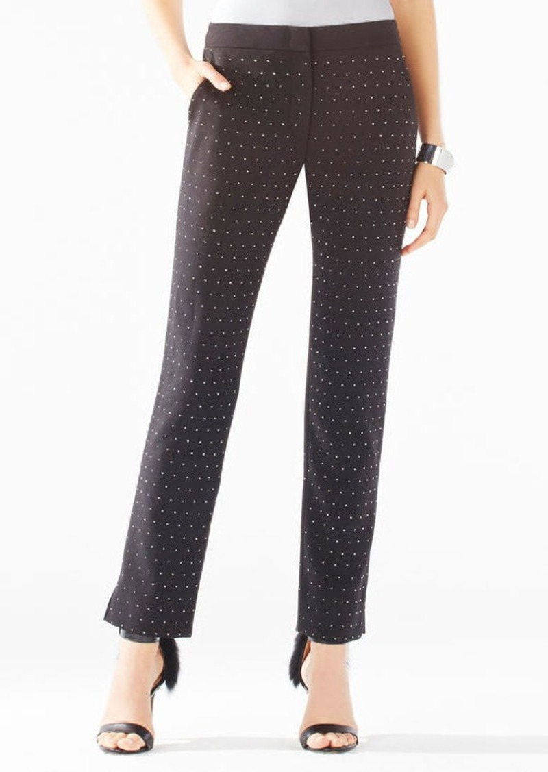 BCBG Tarik Stud Applique Trousers